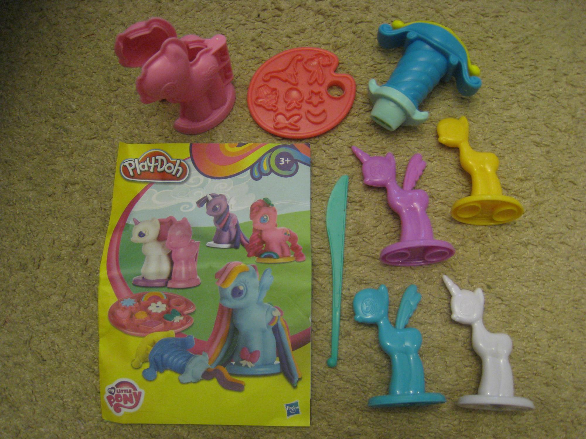 Набор Play-Doh Создай любимую пони в Москве 89161988278 купить 5
