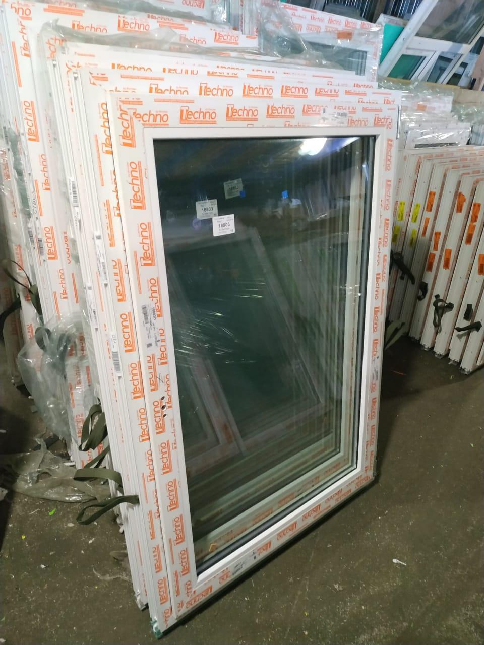 Готовое пластиковое окно одностворчатое 800x1100 в Москве 89253899134 купить 1