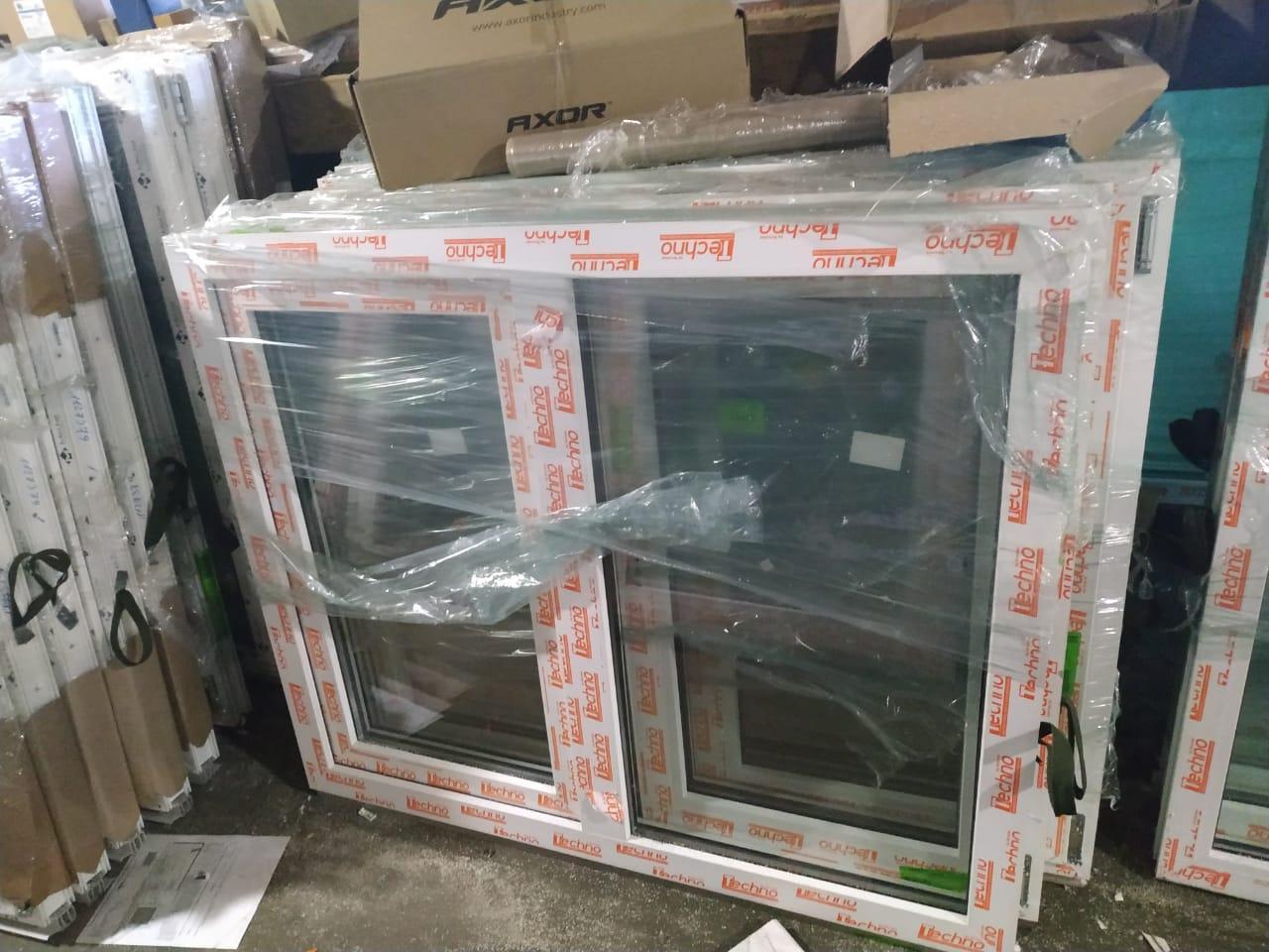 Пластиковое окно Novotex двухстворчатое 1200x1000 в Москве 89253899134 купить 1