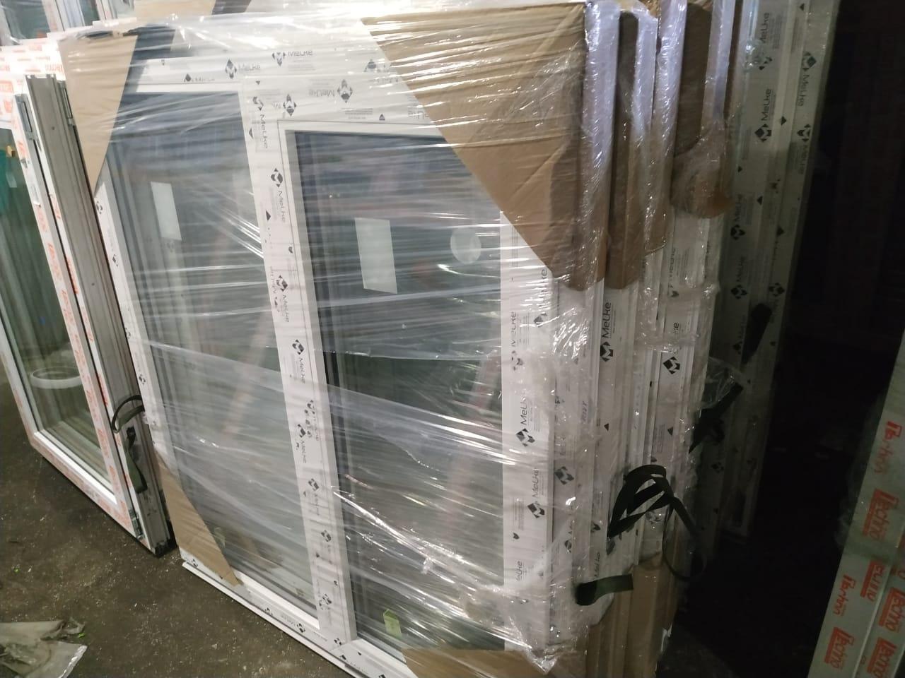 пластиковое окно двухстворчатое 1300x1400 (ШxВ) в Москве 89253899134 купить 1