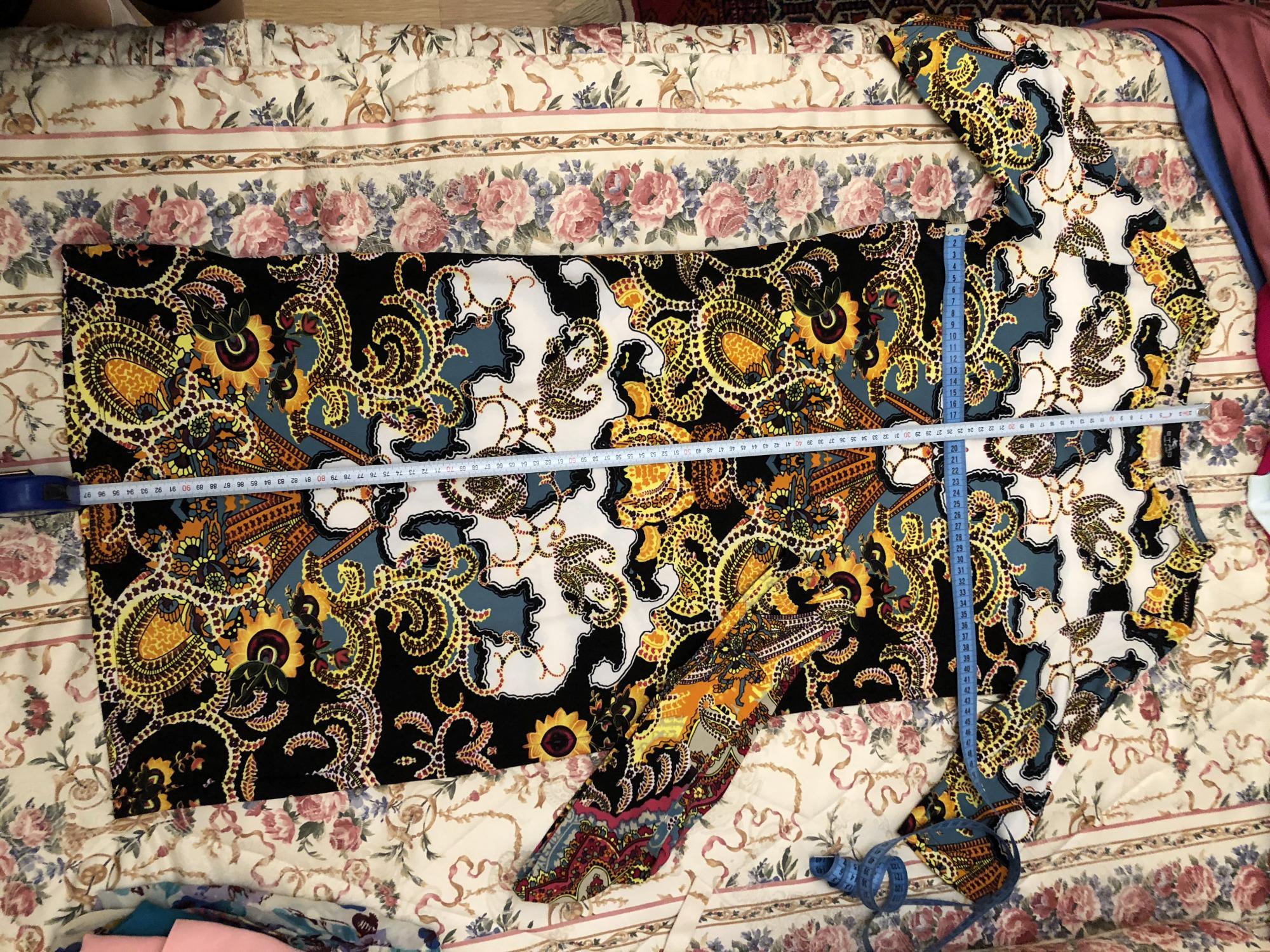 Платье с орнаментом и поясом в Москве 89168608128 купить 1