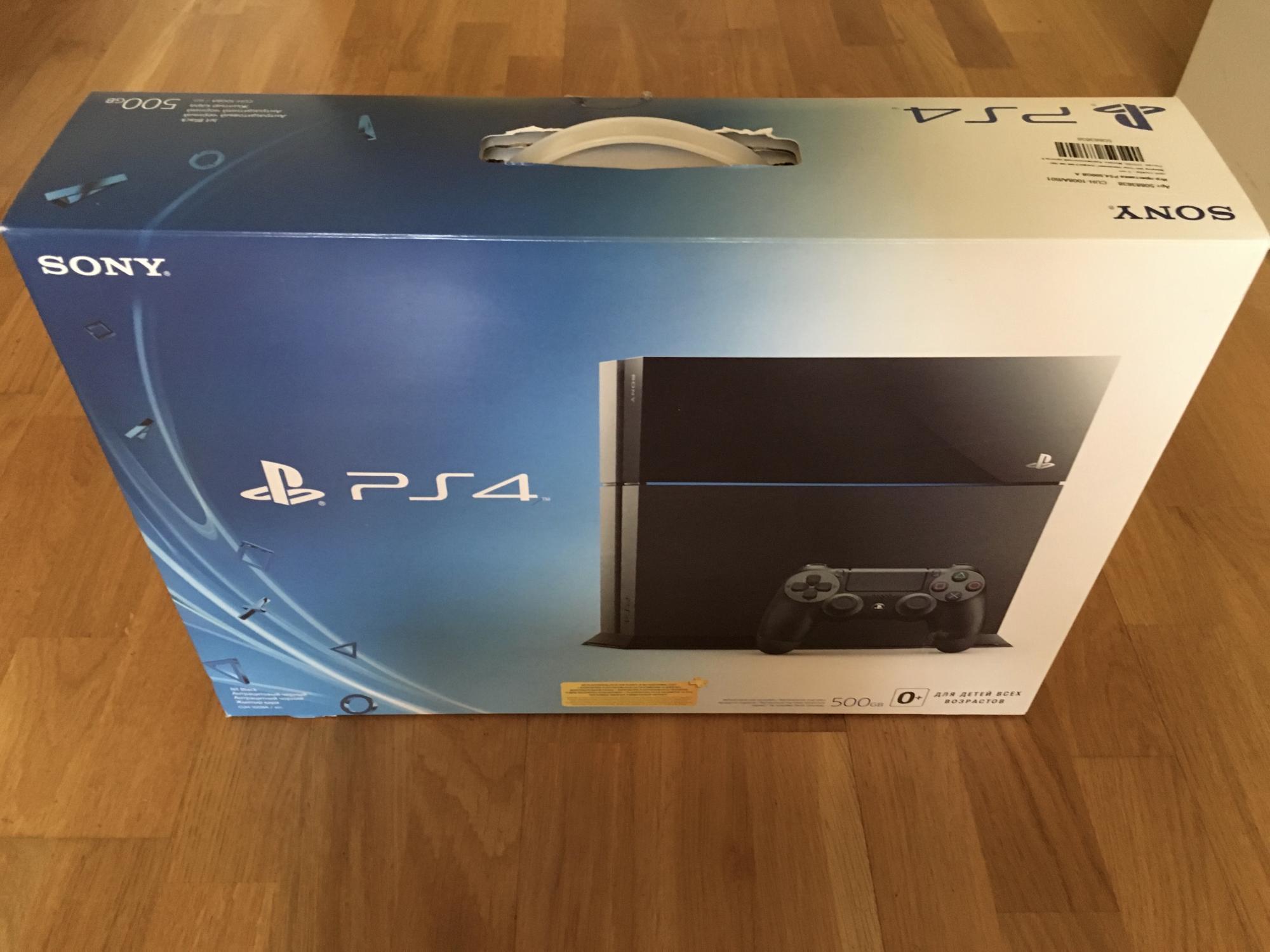 Sony PlayStation 4 500gb в Москве