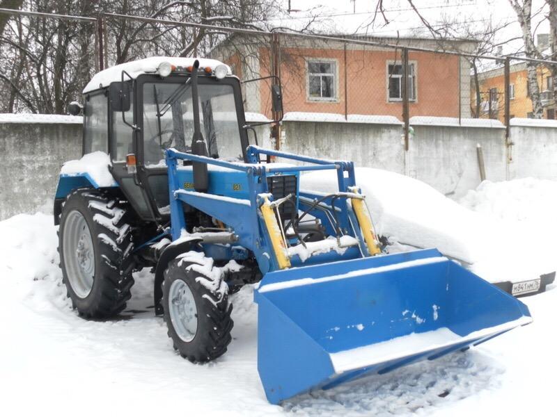 Аренда трактора уборка снега в Москве 89776987047 купить 5