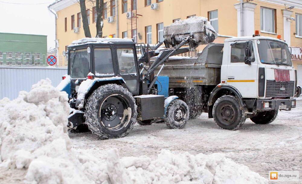 Аренда трактора уборка снега в Москве 89776987047 купить 3