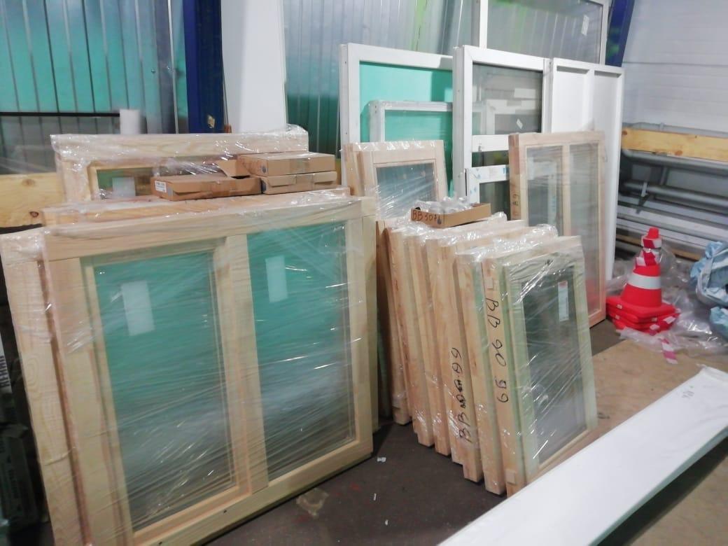 Готовые Деревянные Окна 1170х1470 в Москве 89253899134 купить 1