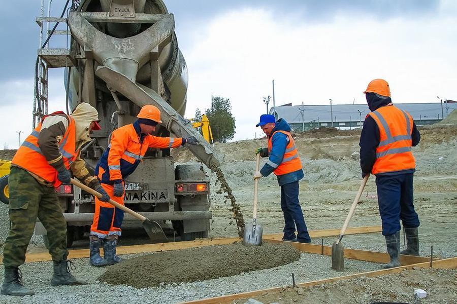 Особенности доставки бетона на строительную площадку