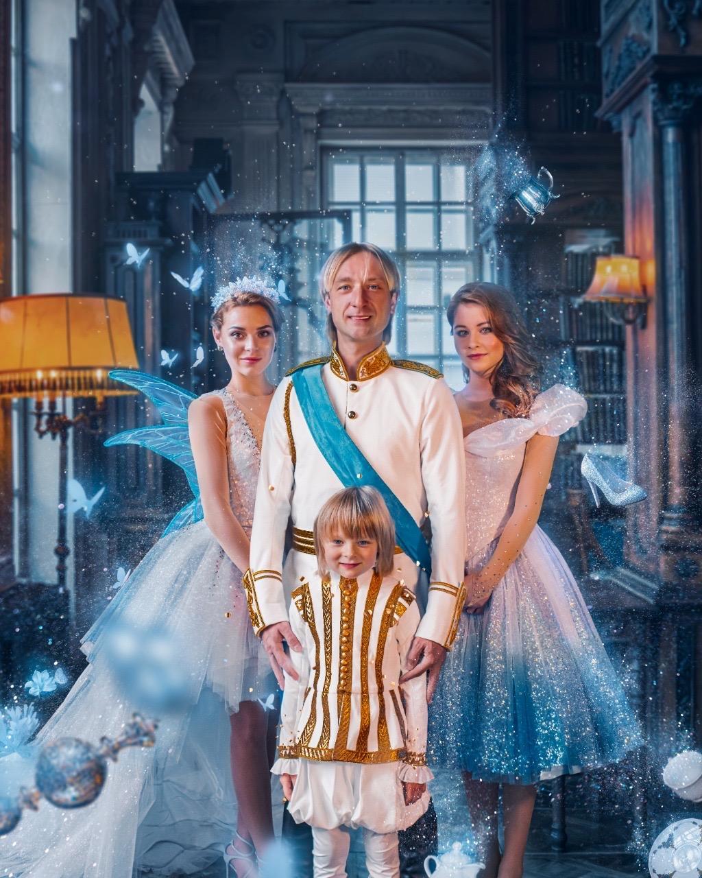 Ice show of Plushenko  Cinderella  in Moscow