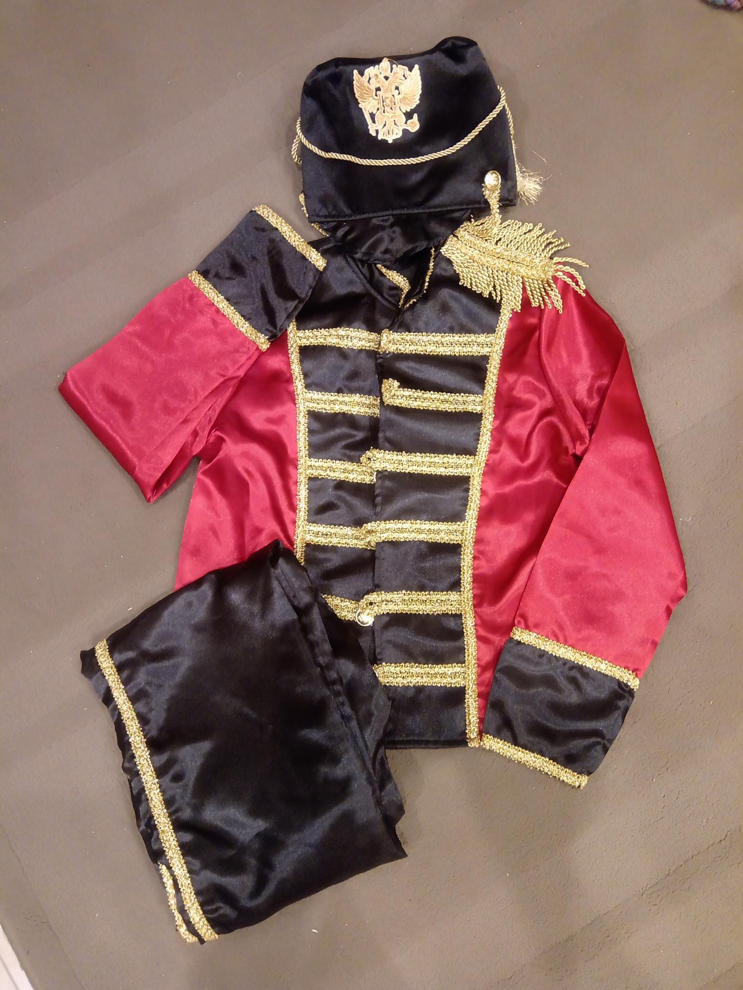 Гусар карнавальный костюм 89299233319 купить 1