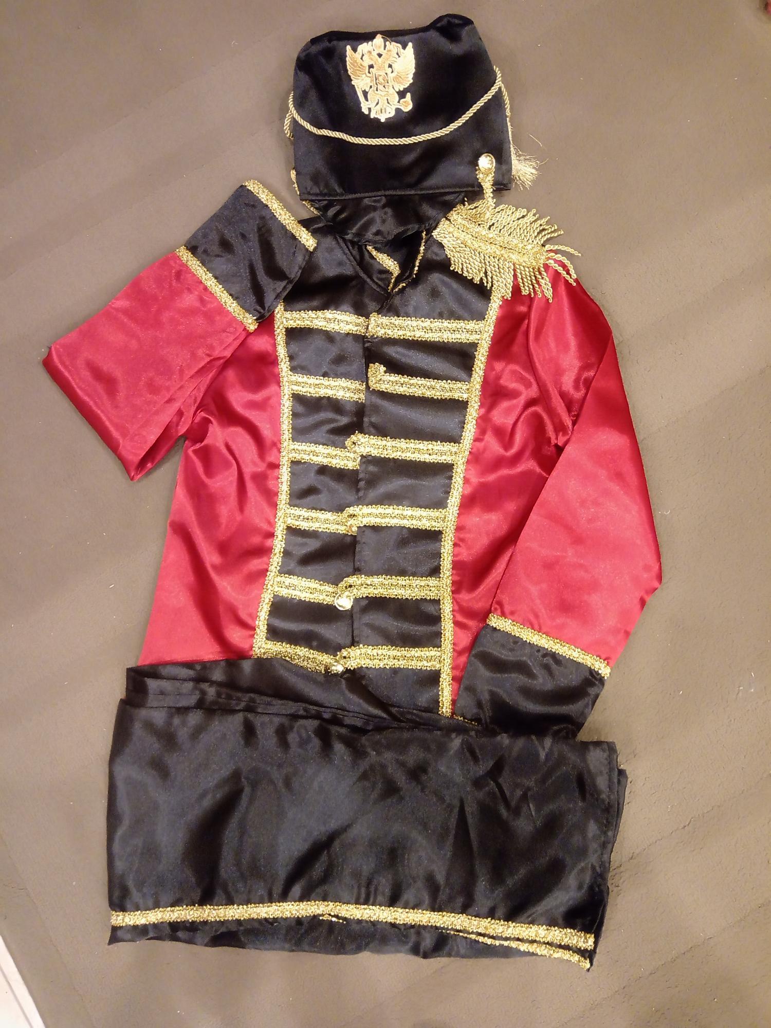 Гусар карнавальный костюм 89299233319 купить 2