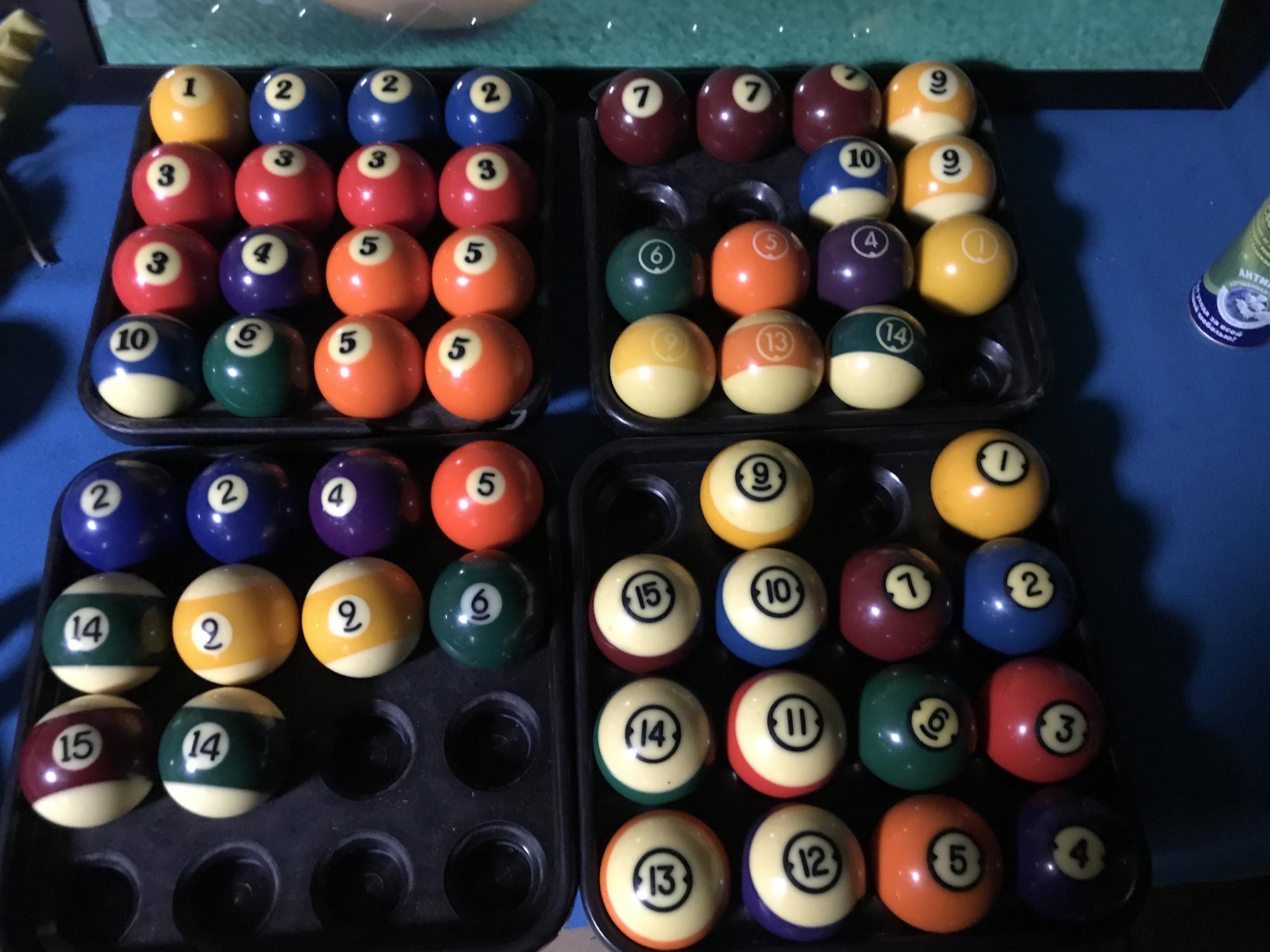Бильярдные шары поштучно для пула в Москве 89161794597 купить 1