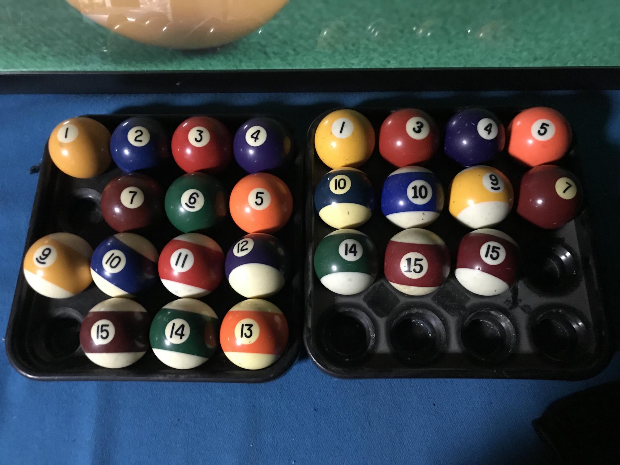 Бильярдные шары поштучно для пула в Москве 89161794597 купить 2
