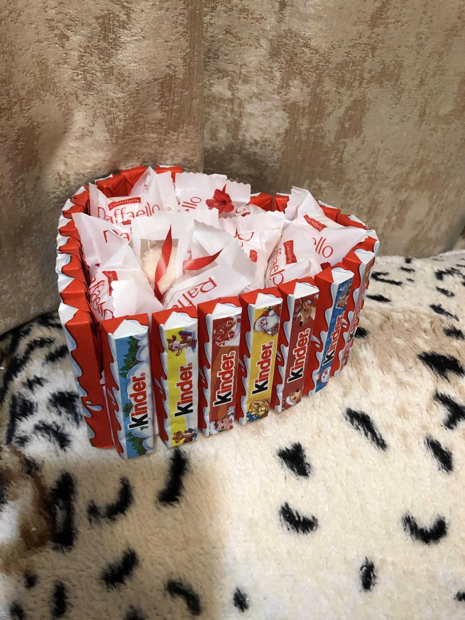 Торт из киндера в Москве купить 5