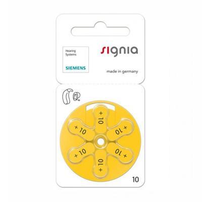 Батарейки Signia 10, для внутриушных слух.аппар в Москве 89104440765 купить 1