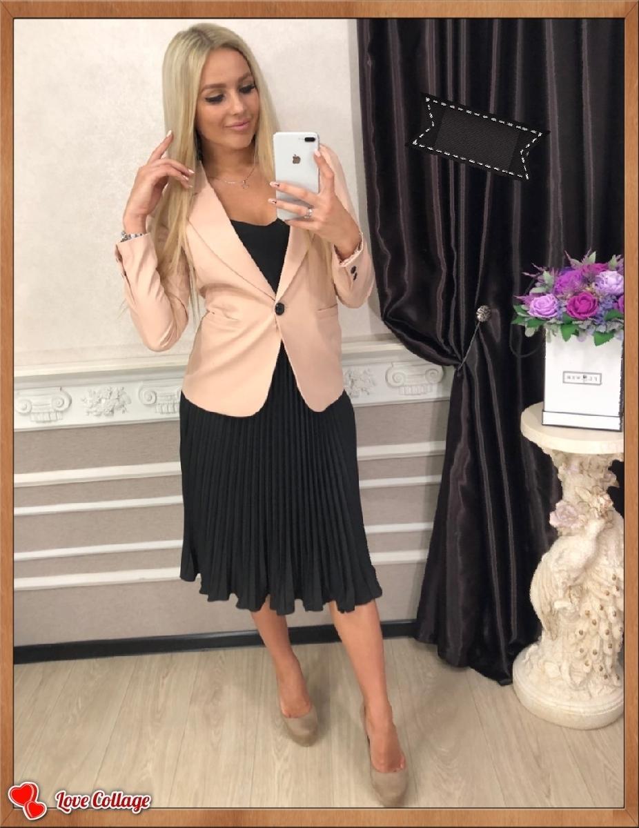Костюм двойка(пиджак+юбка)