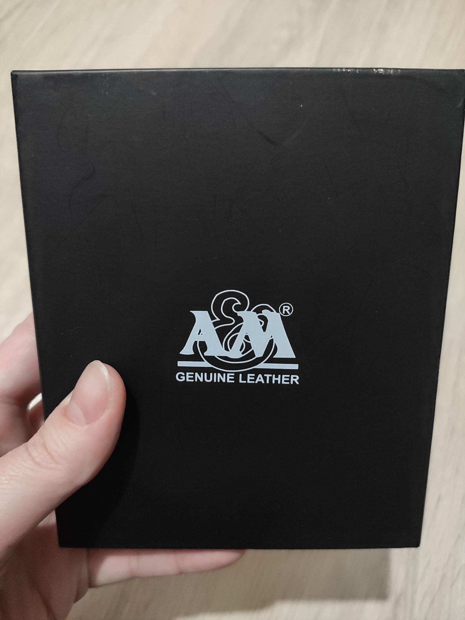 New leather wallet A&M