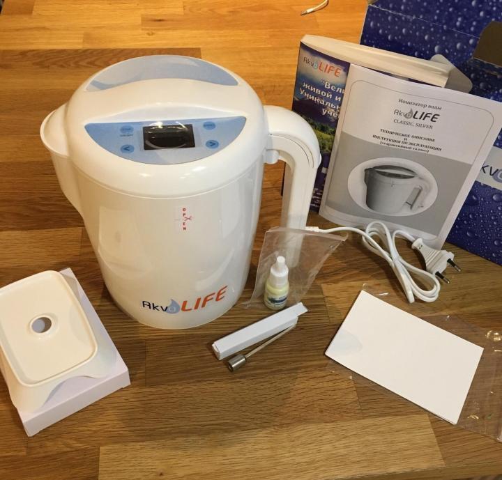 Ионизатор воды Akvalife (без бумажных фильтров) в Москве 89175989309 купить 1