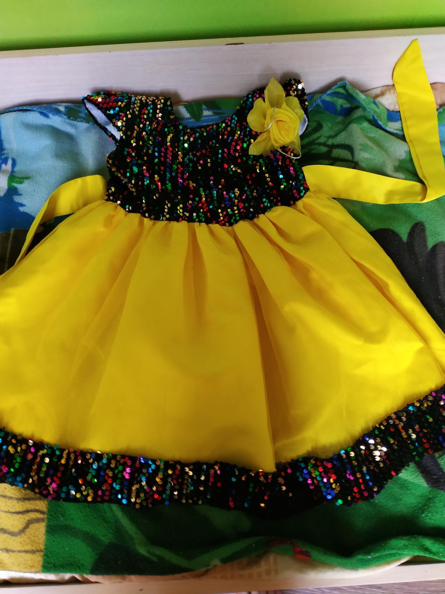 Платья праздничные на девочку в Воздвиженке 89244353967 купить 2