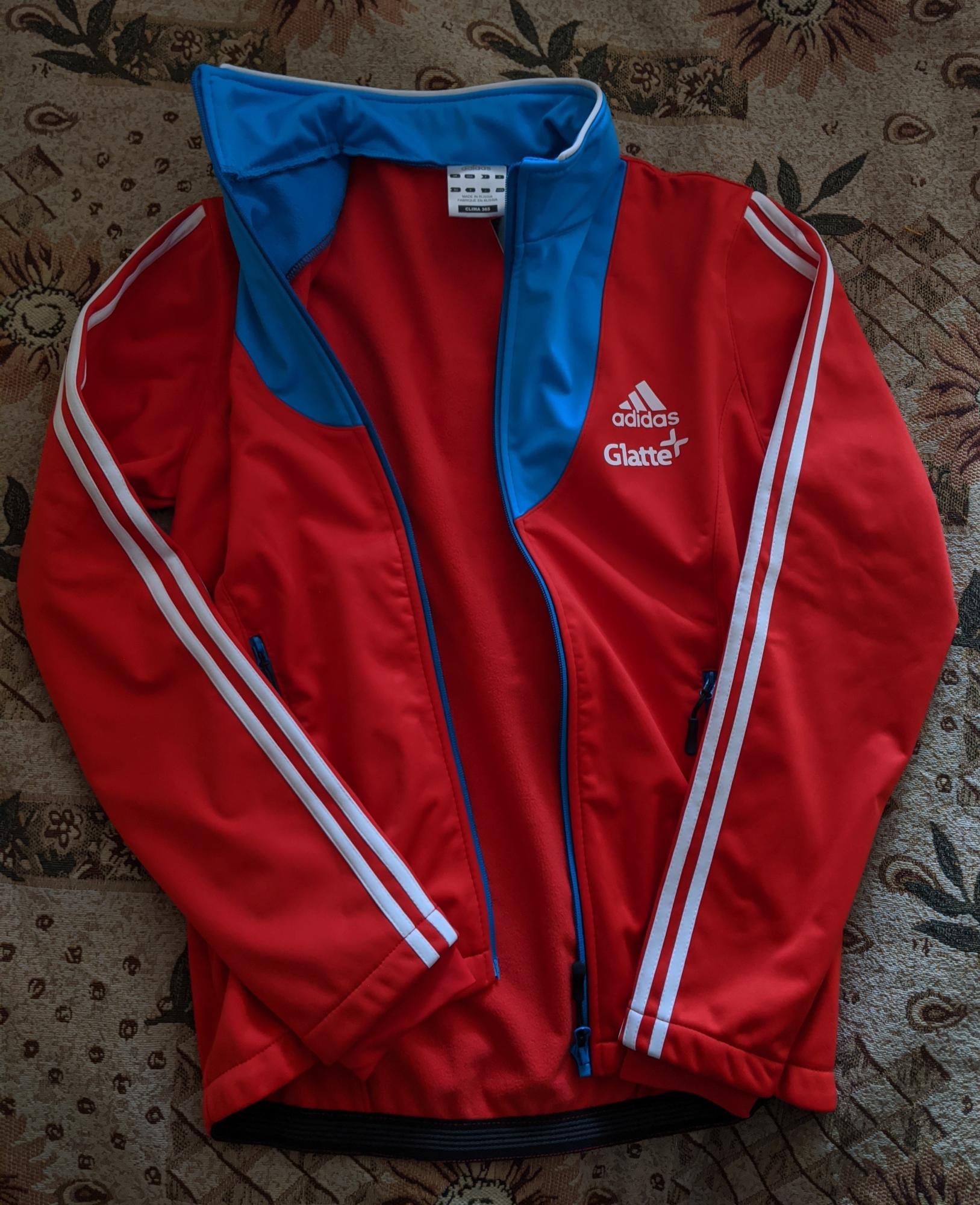 Новая лыжная разминка Adidas сборной России в Москве купить 2