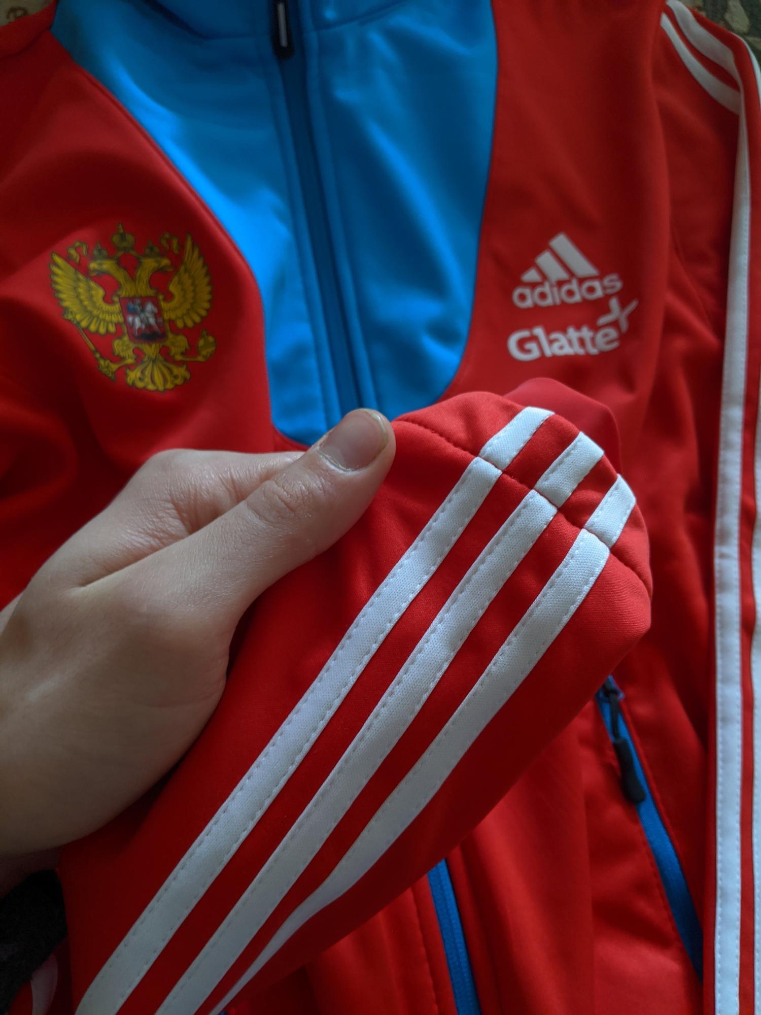 Новая лыжная разминка Adidas сборной России в Москве купить 3