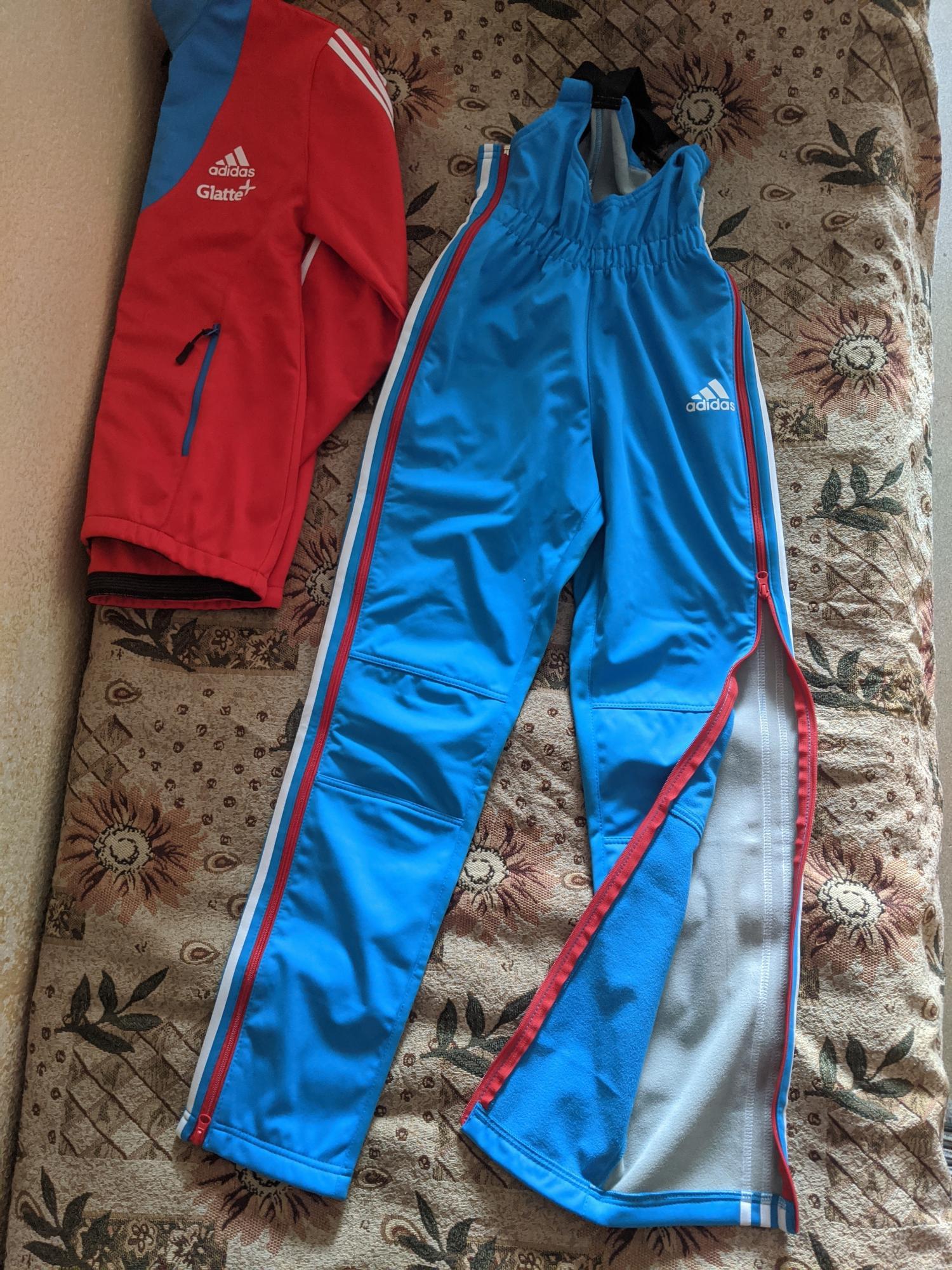 Новая лыжная разминка Adidas сборной России в Москве купить 5