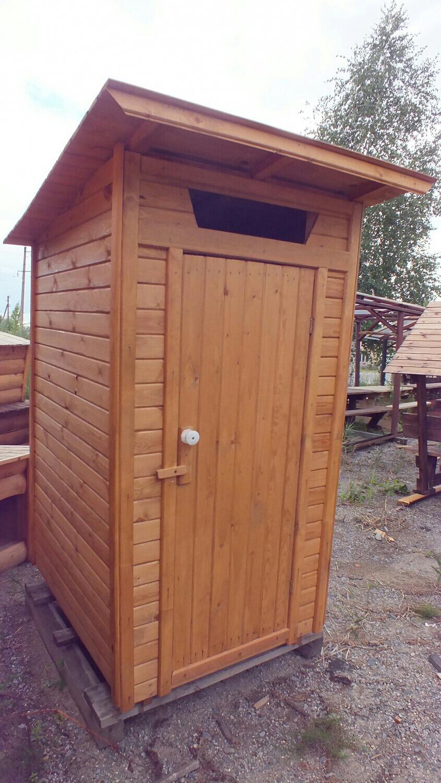 Туалет дачный в Мосрентгене