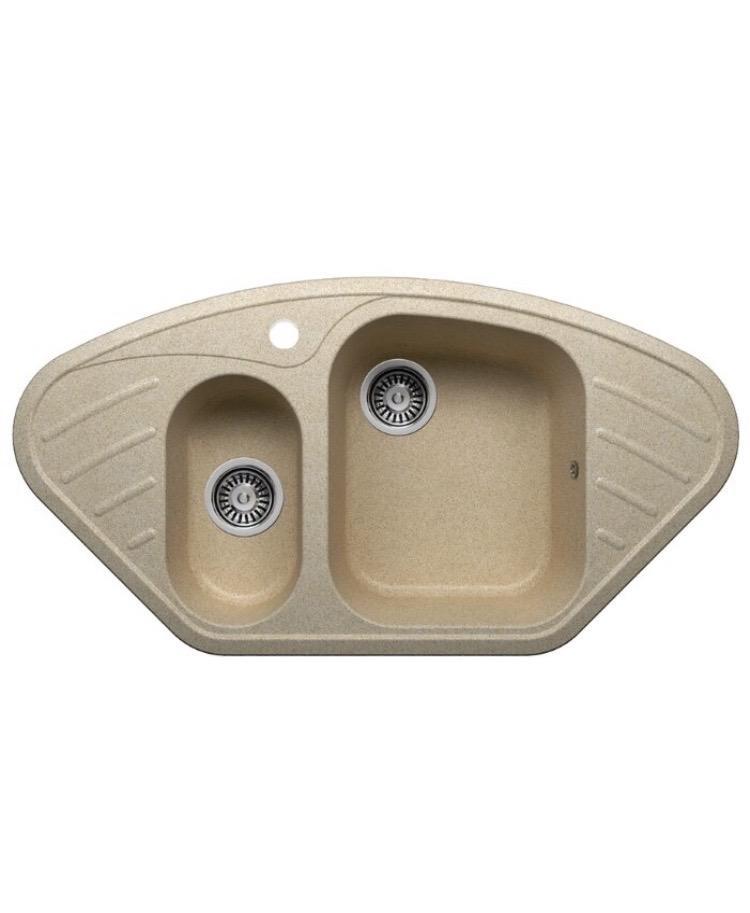 Кухонная мойка Polygran f-14 искусствен мрамор 89302707917 купить 1