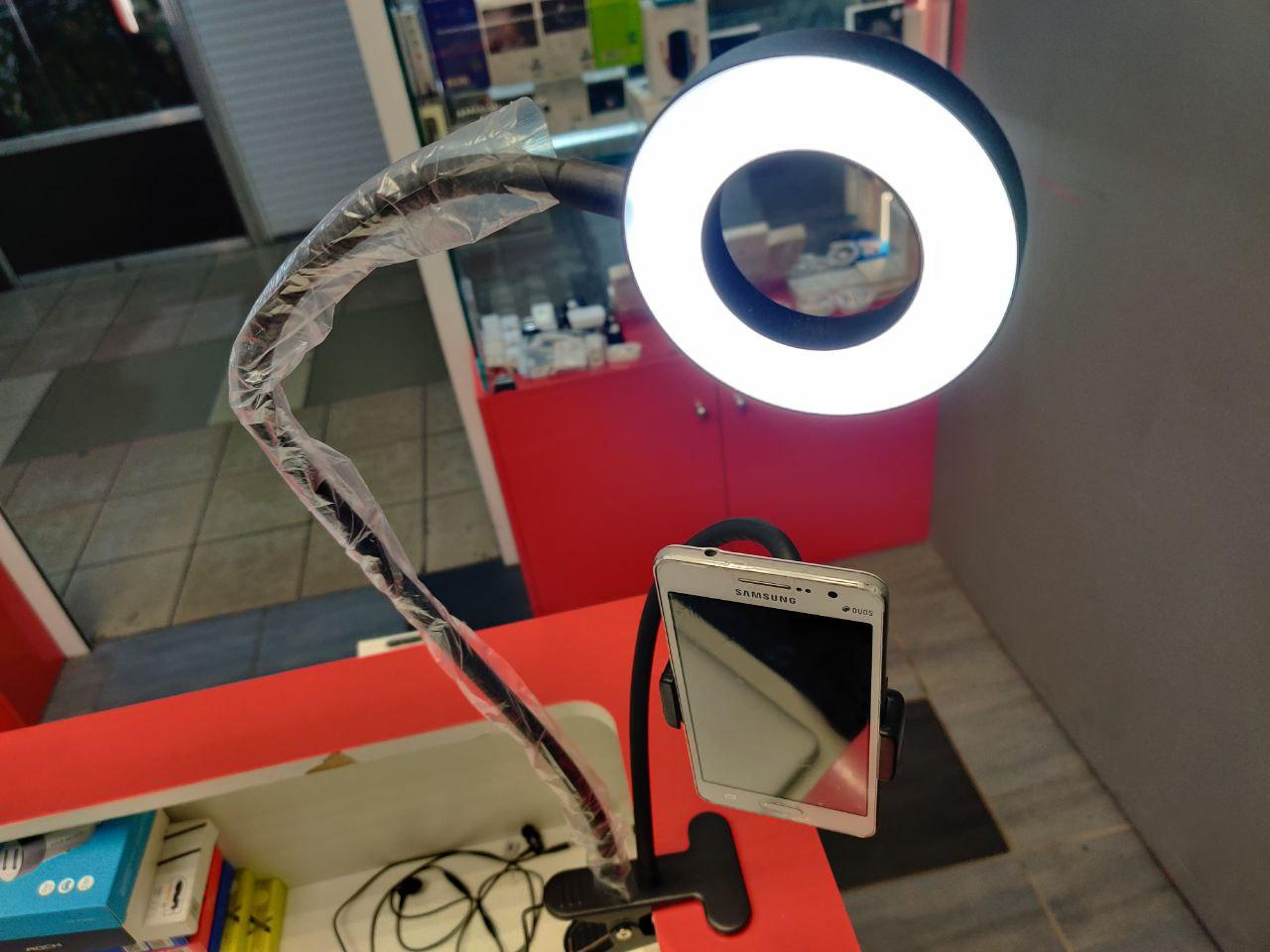 Лампа кольцевая с держателем для смартфона в Москве 89771038898 купить 7