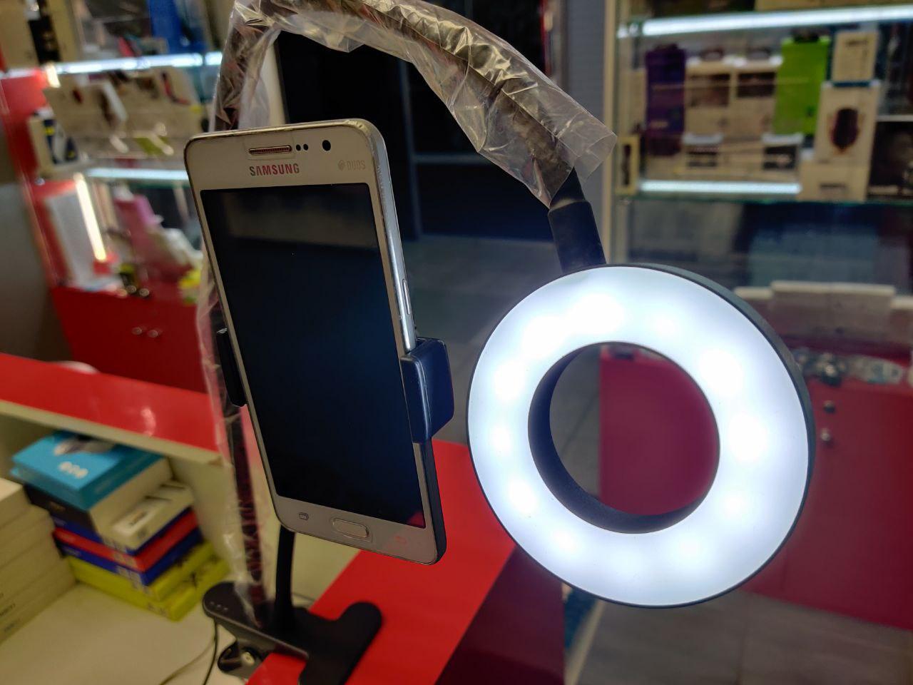 Лампа кольцевая с держателем для смартфона в Москве 89771038898 купить 3