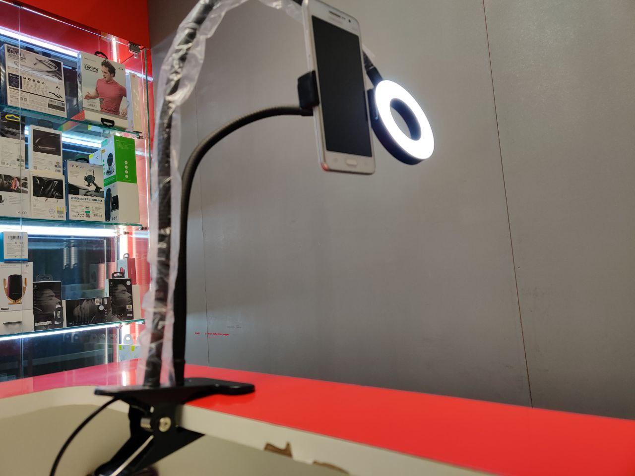 Лампа кольцевая с держателем для смартфона в Москве 89771038898 купить 5