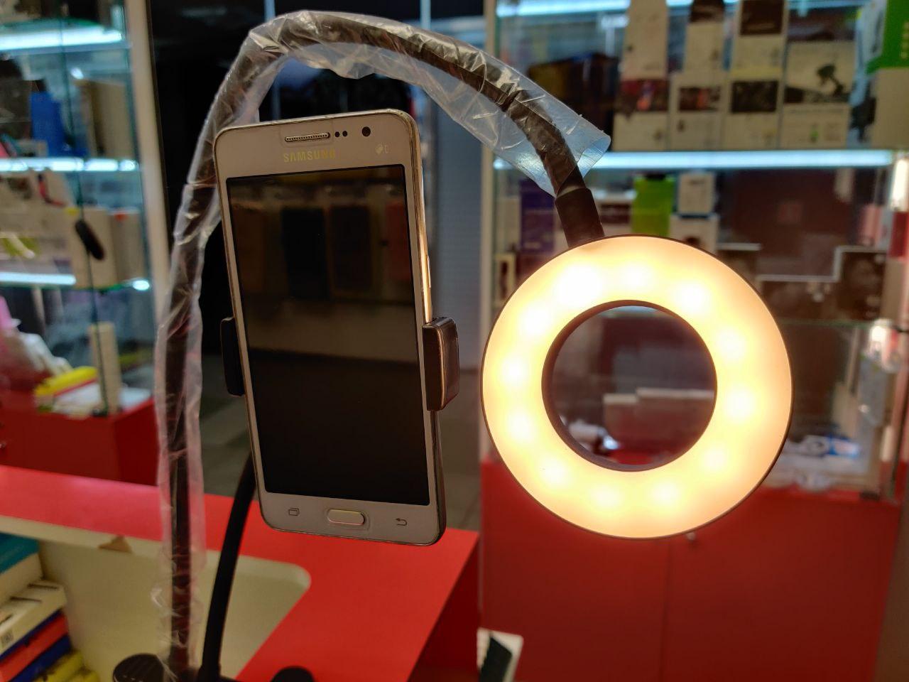 Лампа кольцевая с держателем для смартфона в Москве 89771038898 купить 4