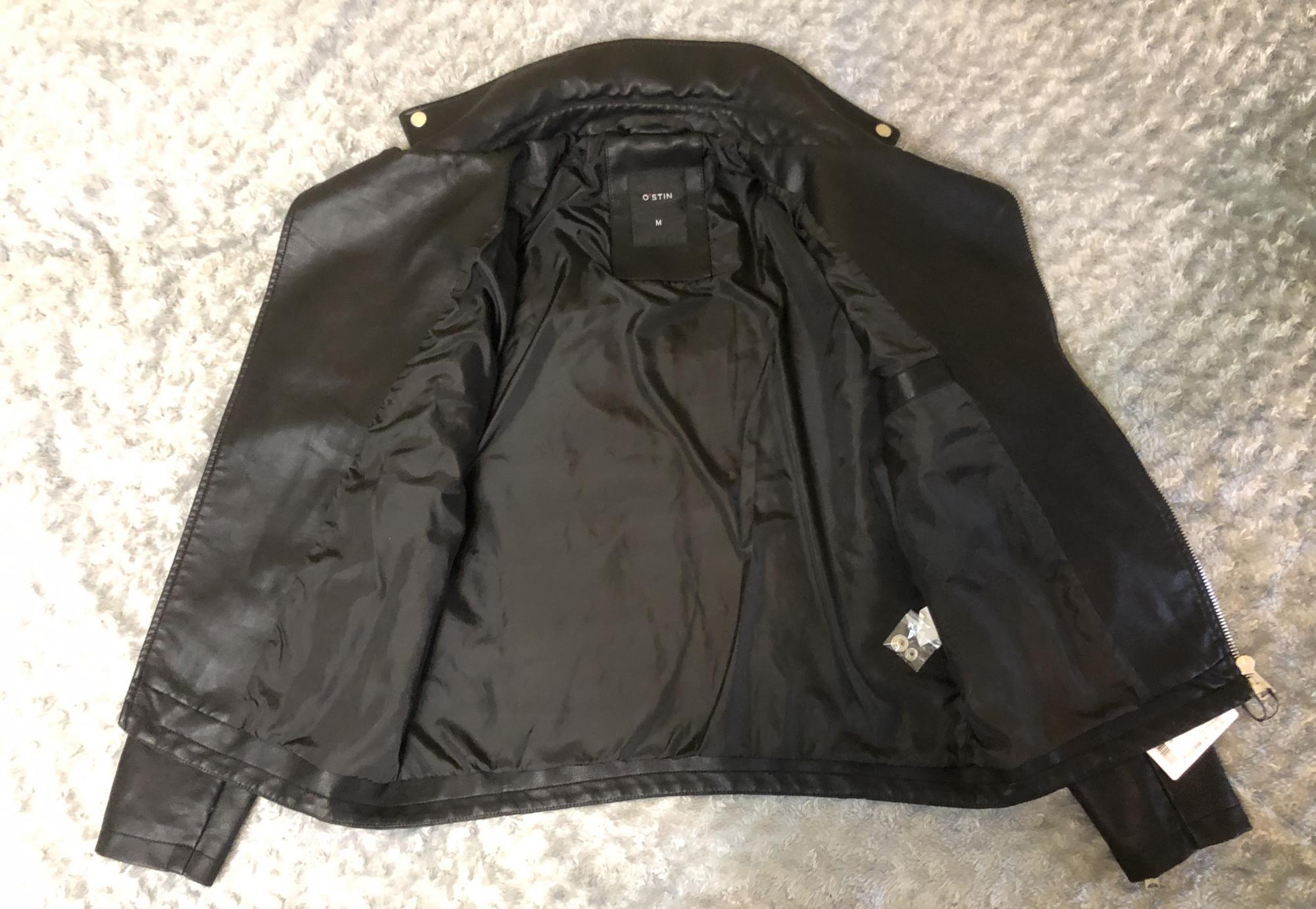 Мужская черная куртка O'stin в Москве 89256096656 купить 3