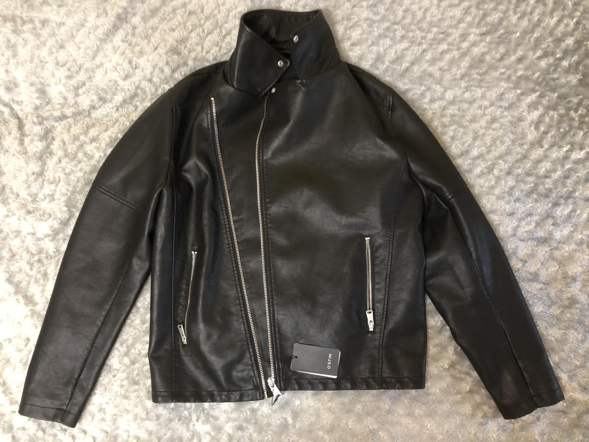 Мужская черная куртка O'stin в Москве 89256096656 купить 1