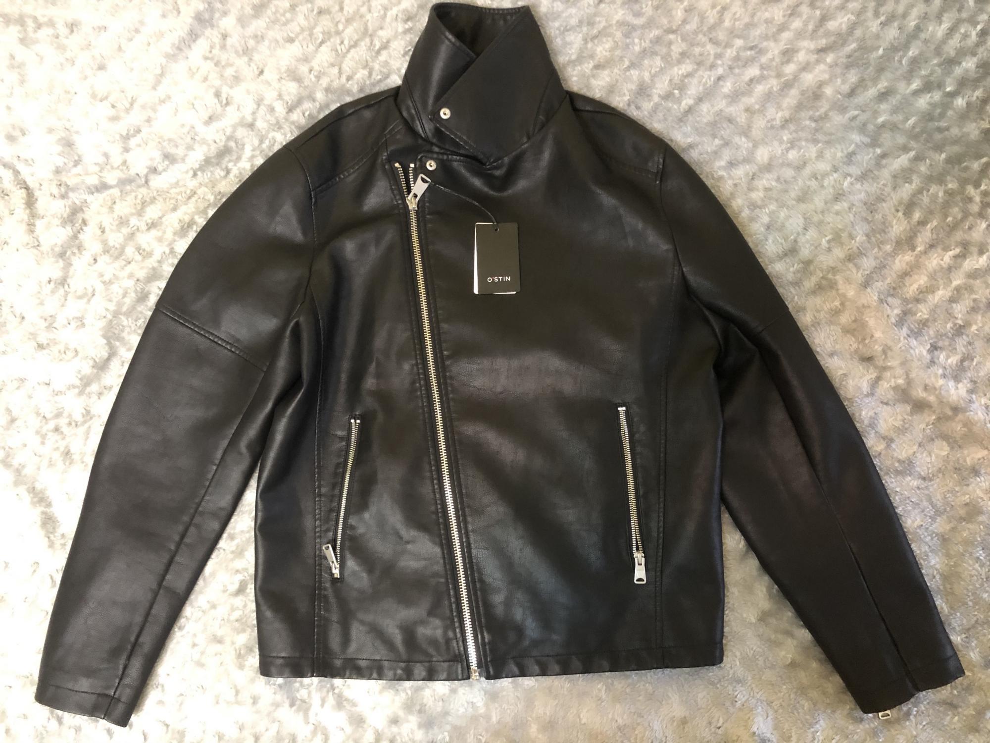 Мужская черная куртка O'stin в Москве 89256096656 купить 5
