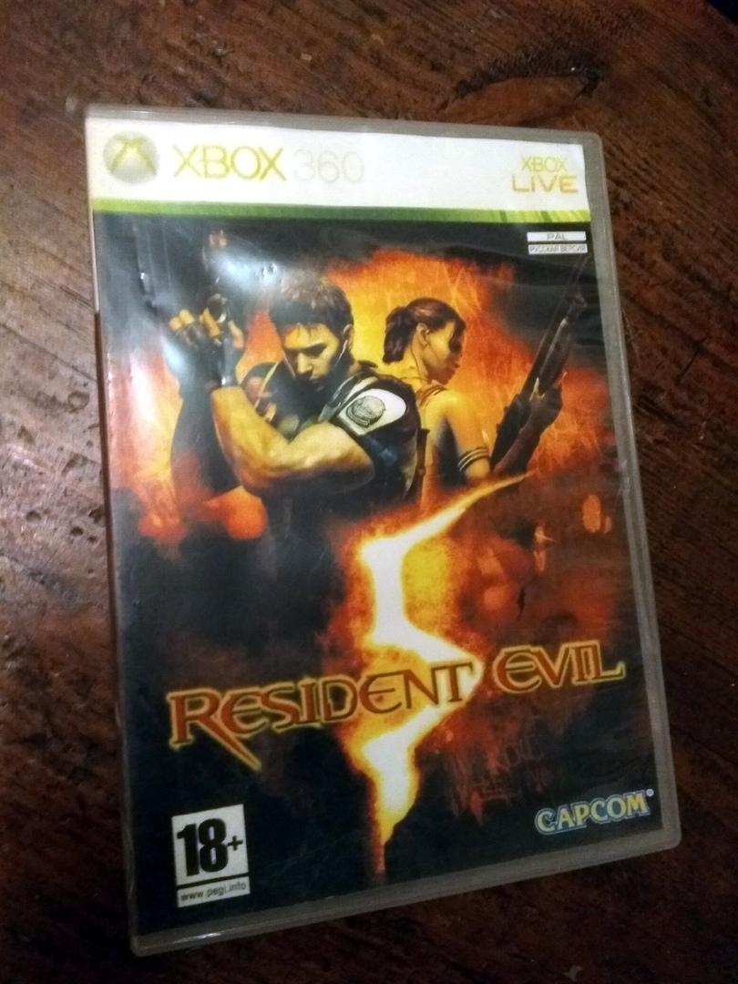 диск Resident Evil для Xbox 360 в Москве 89055780592 купить 1