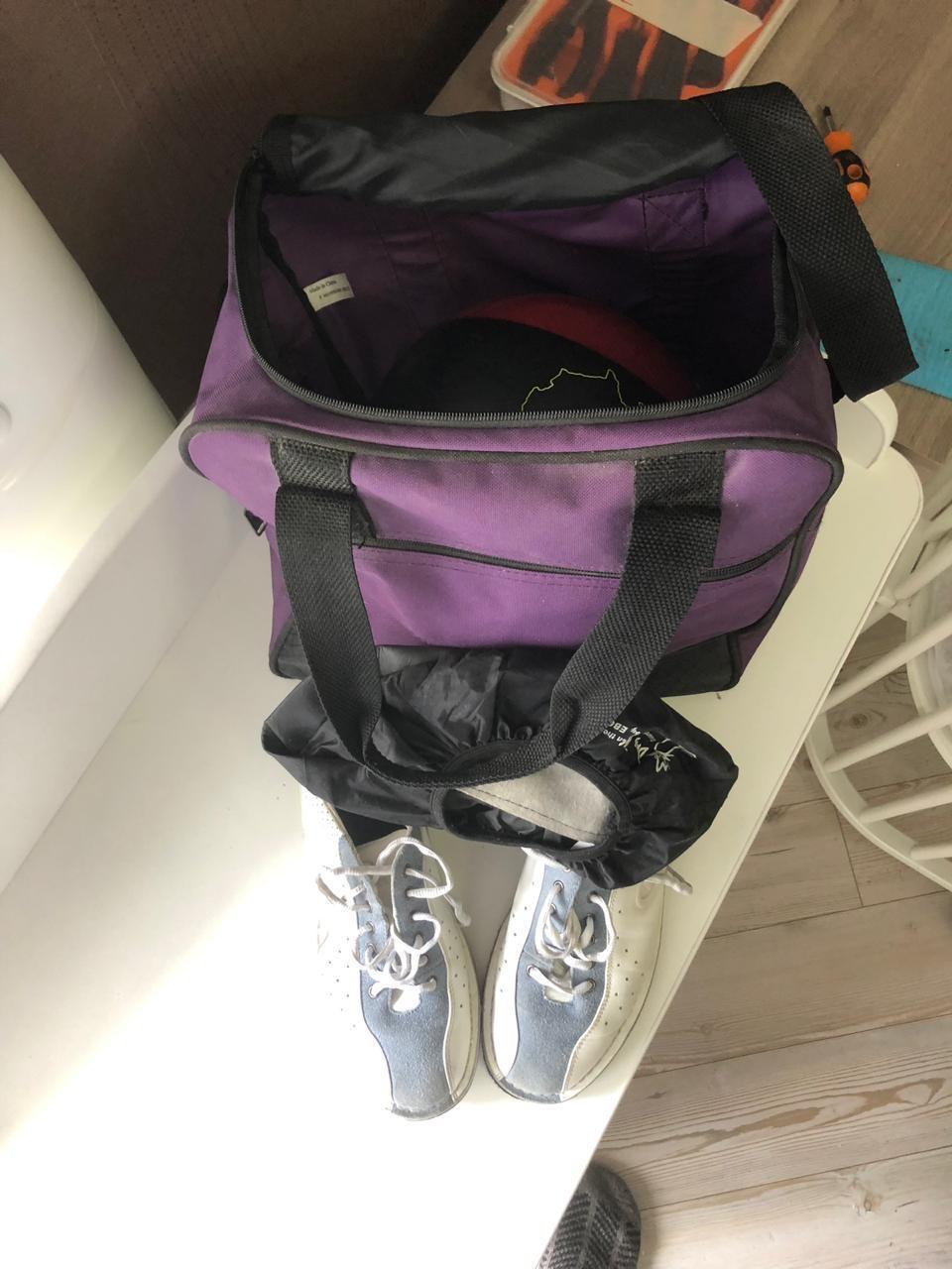 Комплект для боулинга - шар, ботинки, сумка в Москве 89150148129 купить 1