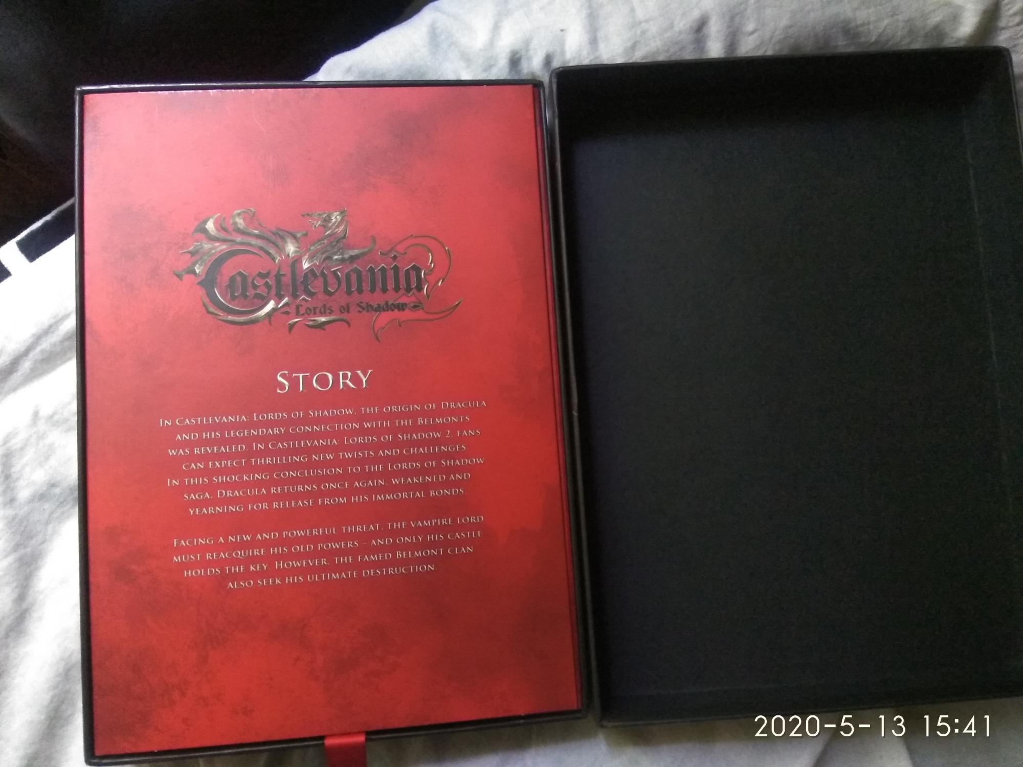 Castlevania Lord of Shadow 2 Limited Edition Belmo в Москве 89067989906 купить 3
