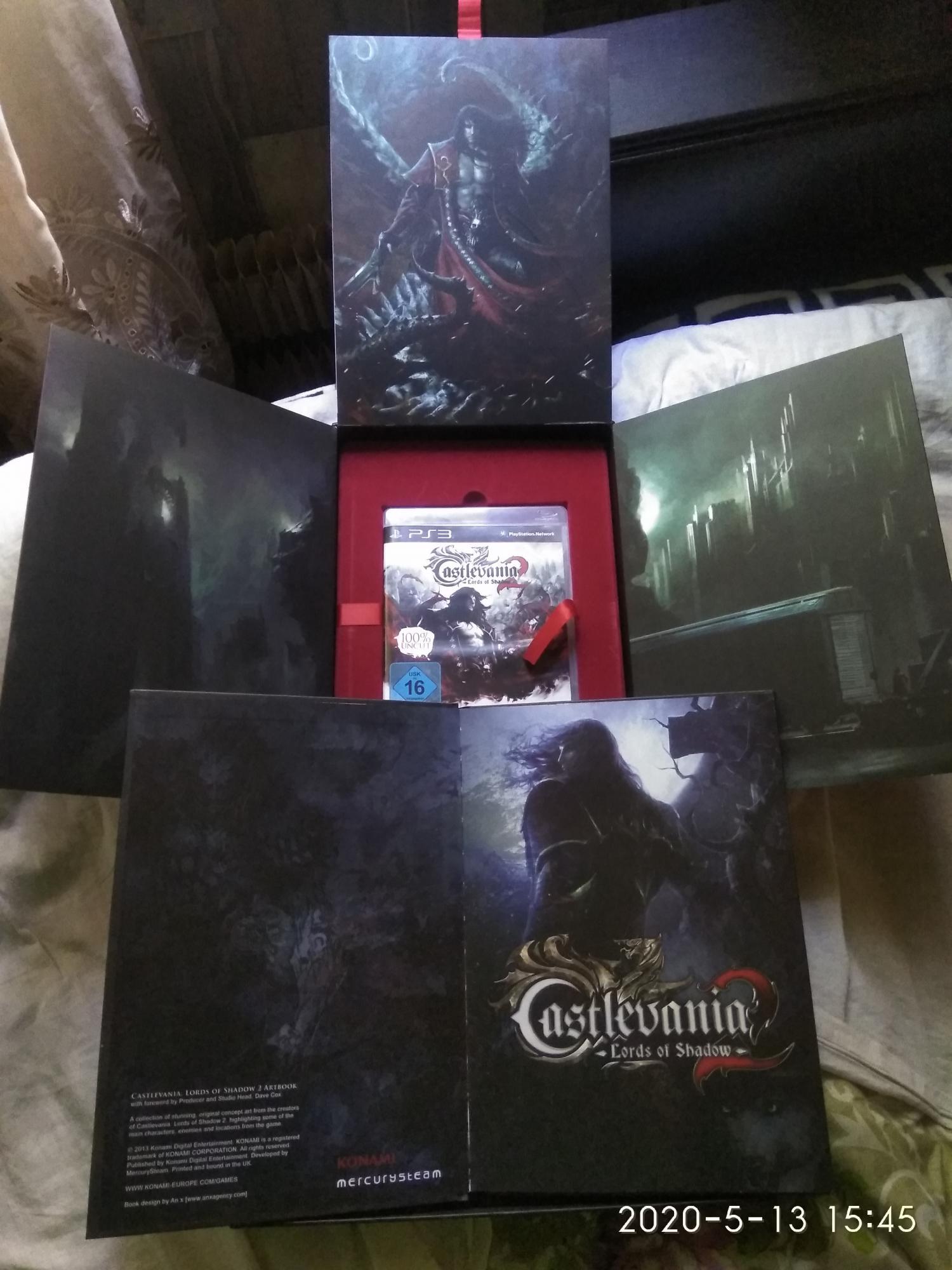 Castlevania Lord of Shadow 2 Limited Edition Belmo в Москве 89067989906 купить 7