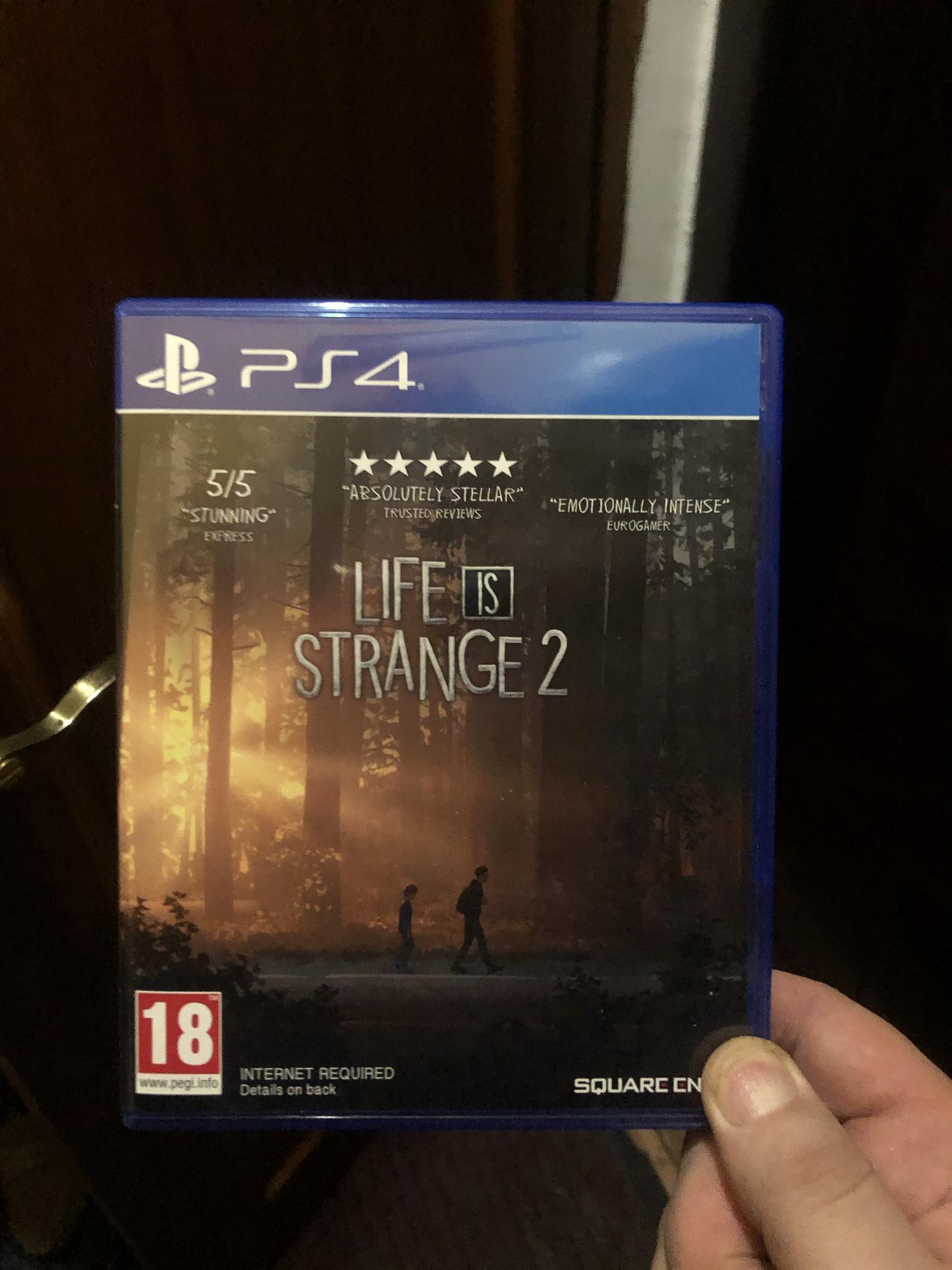 Life is strange 2 ps4 в Москве 89057085959 купить 1