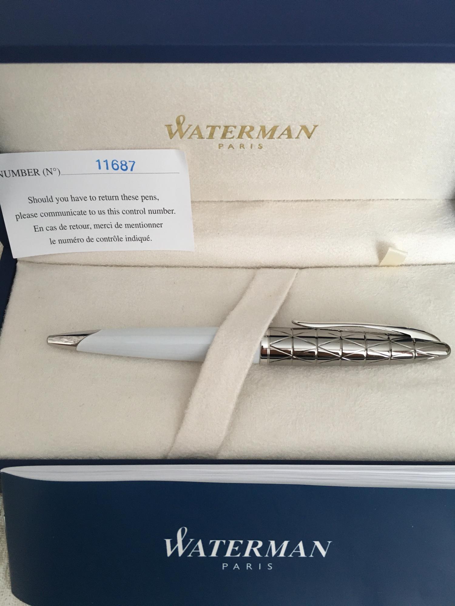 Ручка Waterman Paris в Москве купить 1
