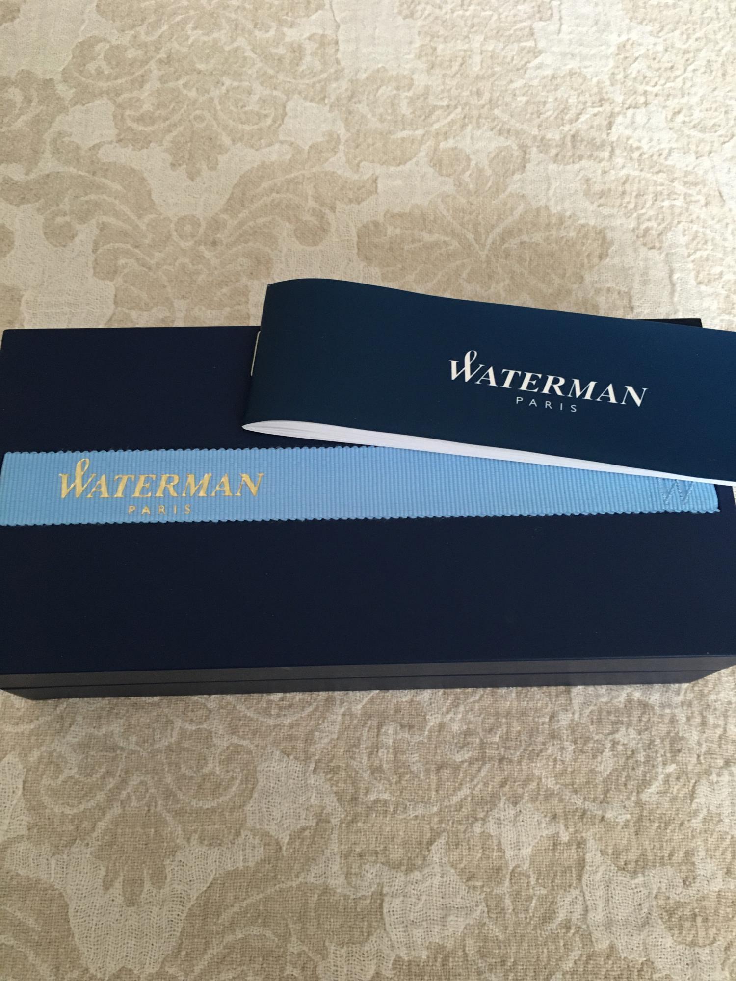 Ручка Waterman Paris в Москве купить 3