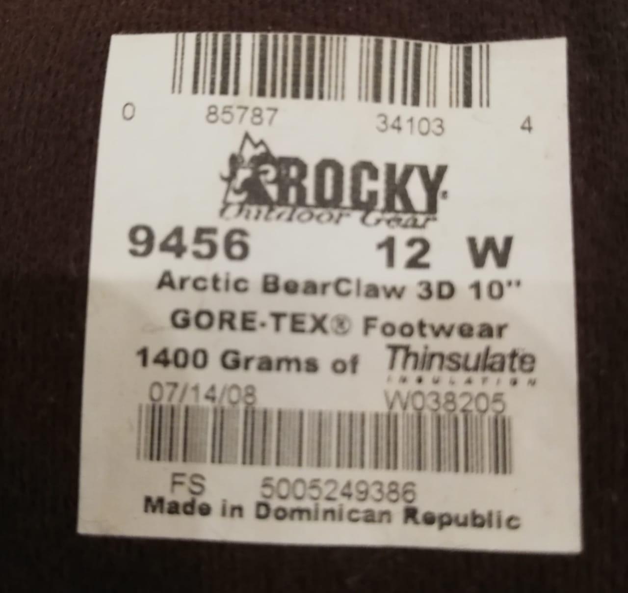 Rocky Arctic Bearclaw 3D (45 р.) в Москве 89263358081 купить 3