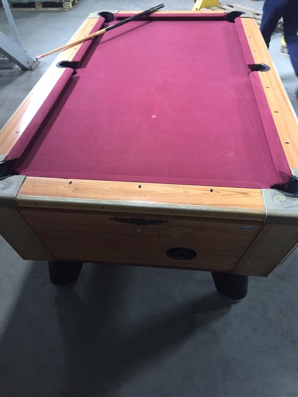 Бильярдный стол Valley жетонный 7 футов пул - б/у в Москве 89167852972 купить 3