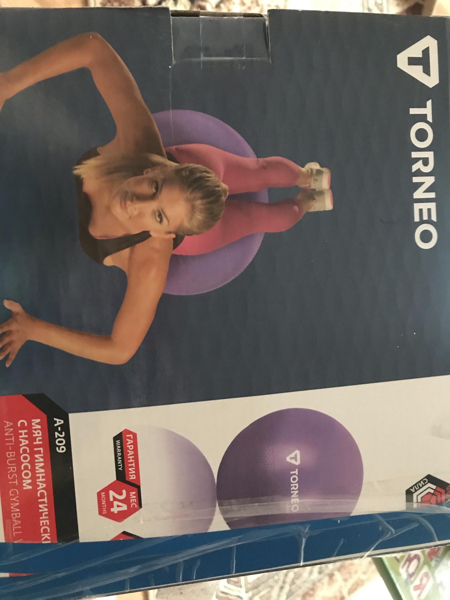 Мяч гимнастический с насосом в Кызыле 89293163402 купить 1