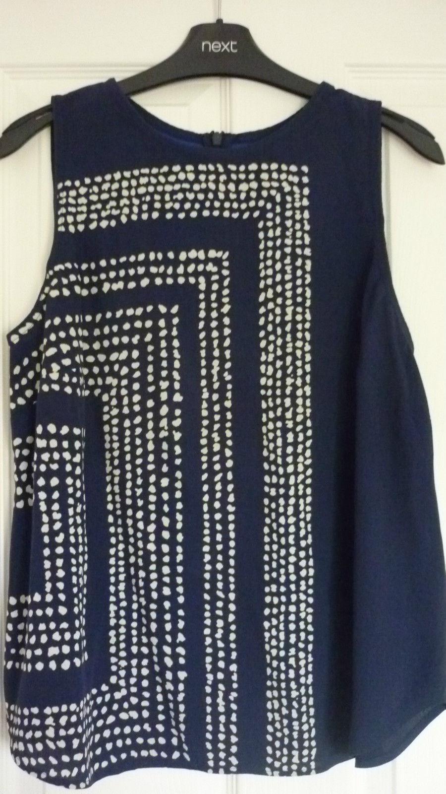 Топ синий Boden 44 46 блузка 89036637918 купить 1