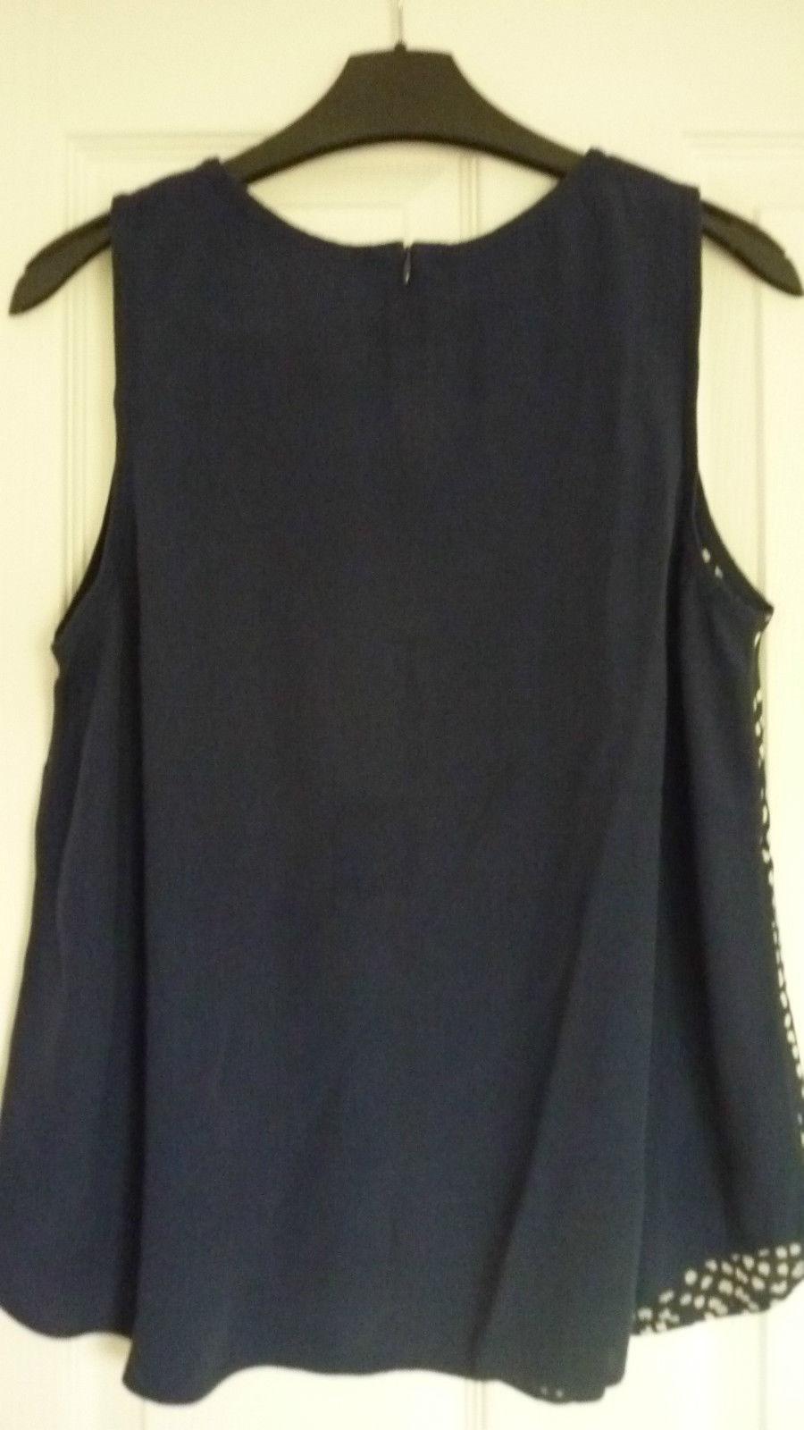 Топ синий Boden 44 46 блузка 89036637918 купить 4