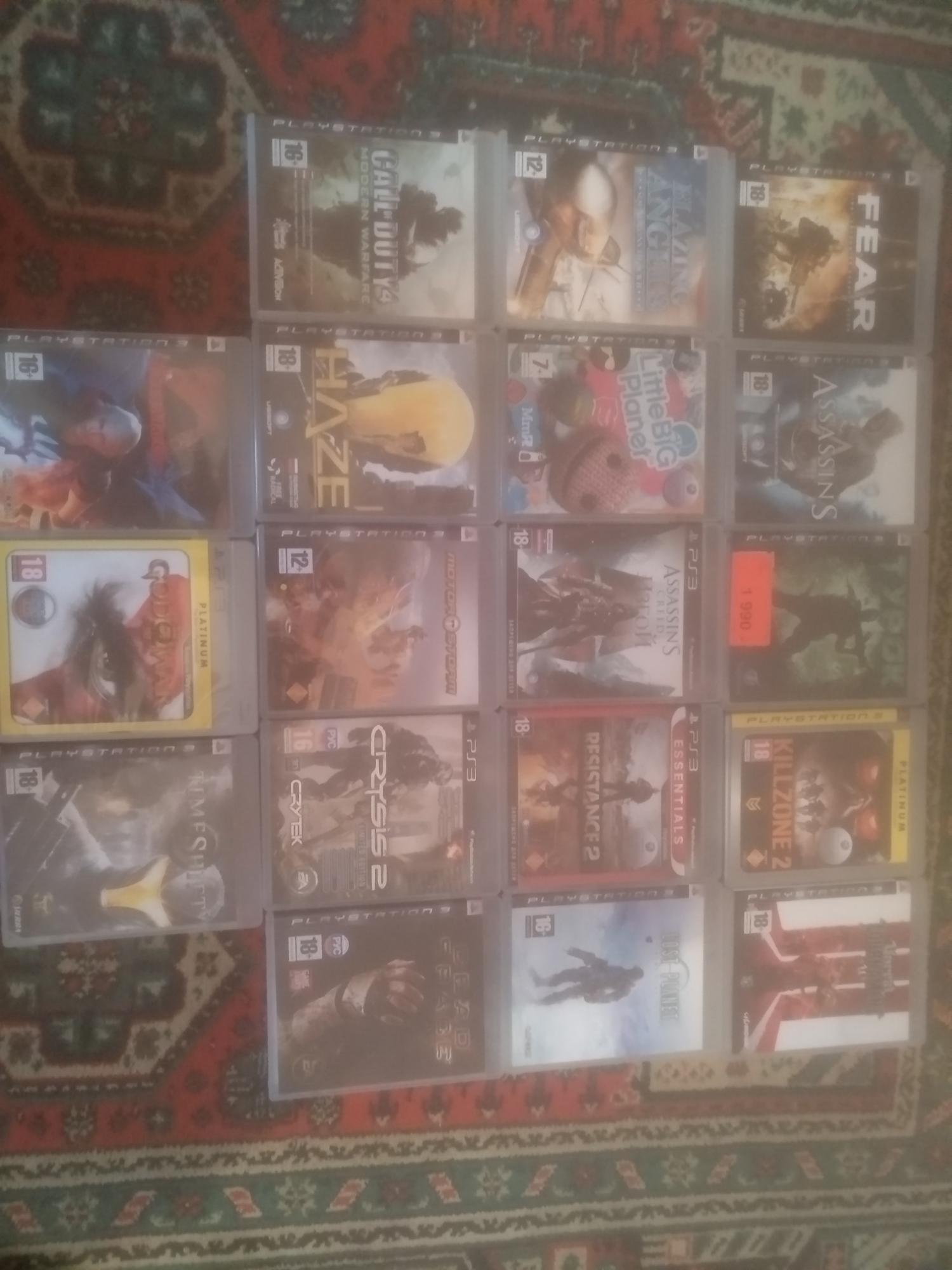 Игры на PS3 в Москве 89661604062 купить 1