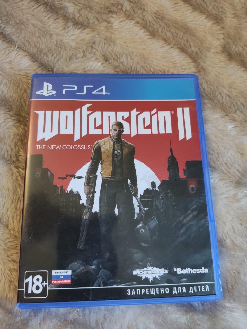 Wolfenstein 2 PS4 в Москве 89266884320 купить 1