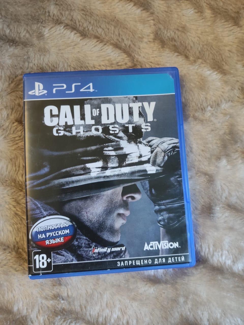 Call of duty ghosts ps4 в Москве 89266884320 купить 1