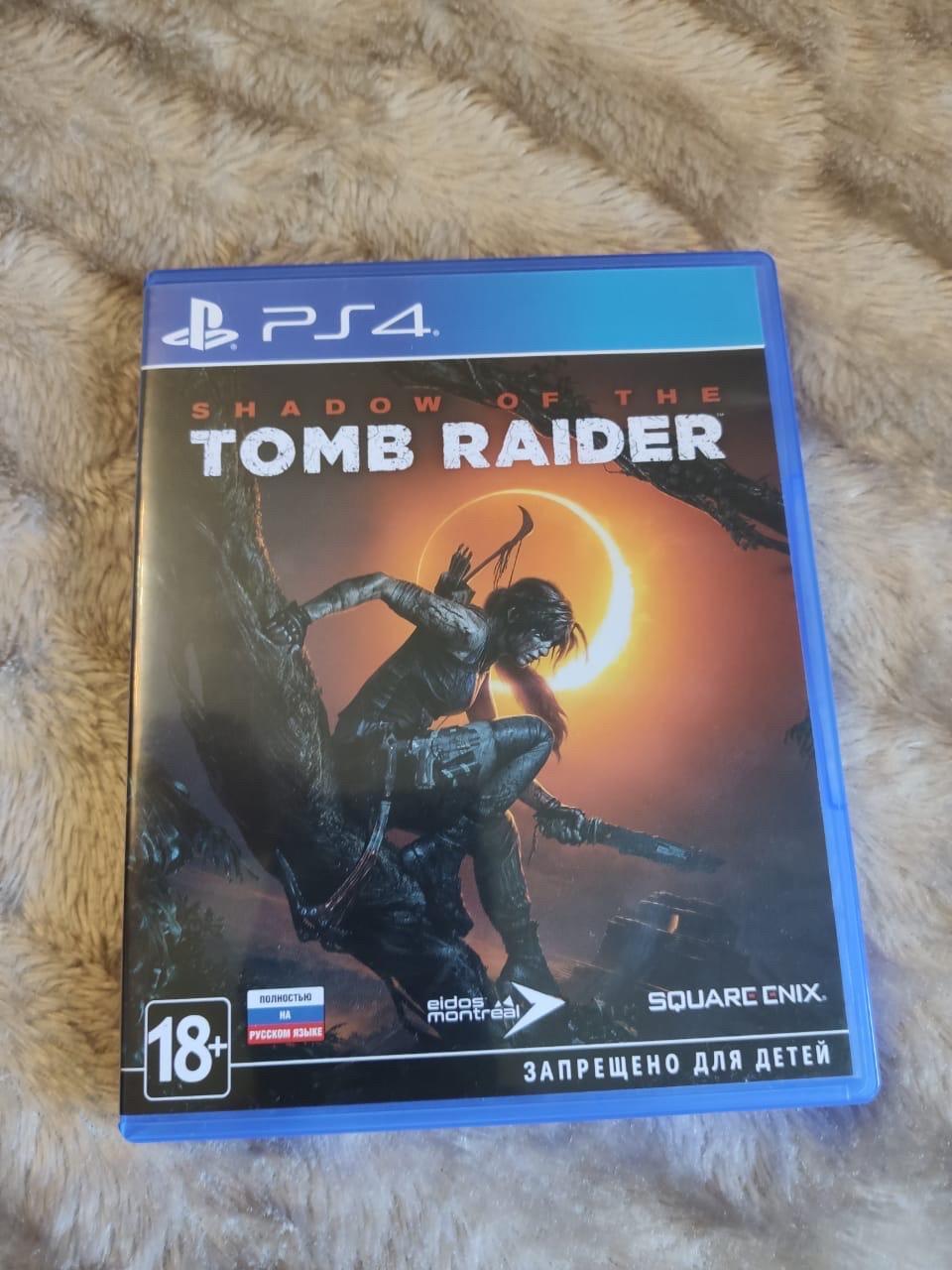 Shadow of tomb raider ps4 в Москве 89266884320 купить 1