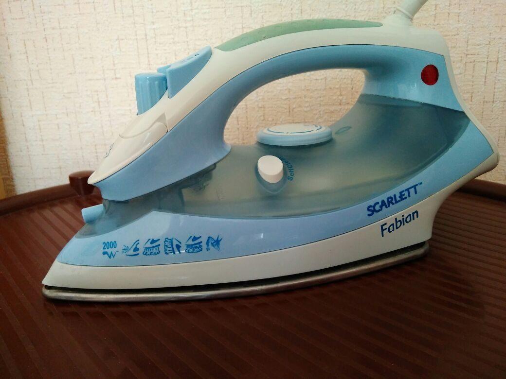 Утюг Skarlett в рабочем состоянии в Пензе 89875145726 купить 1
